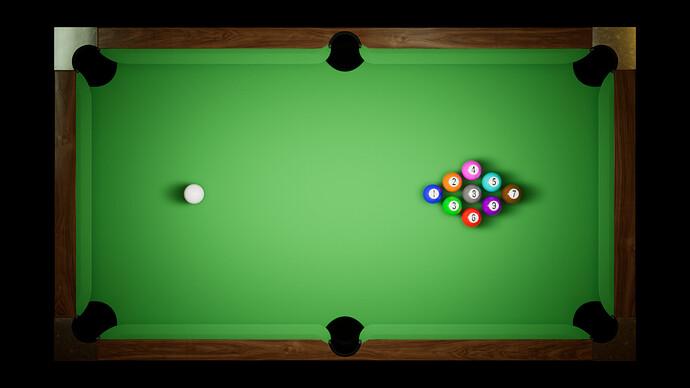 Barroom Billiards - Stage 1 - Table Progress (3)