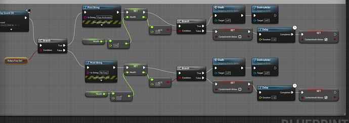 Enemy Character Blueprint