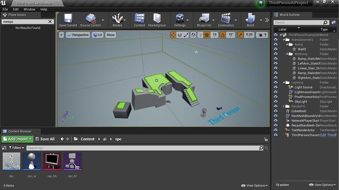 unreal engine navigation mesh