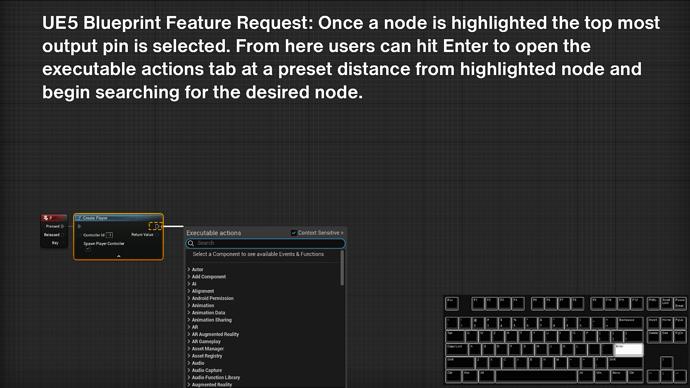 UE5 node shortcut0