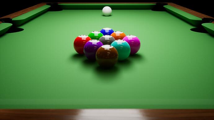 Barroom Billiards - Stage 1 - Table Progress (2)