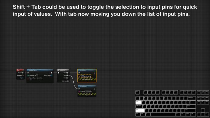 UE5 node shortcut5