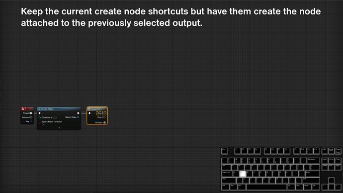 UE5 node shortcut4
