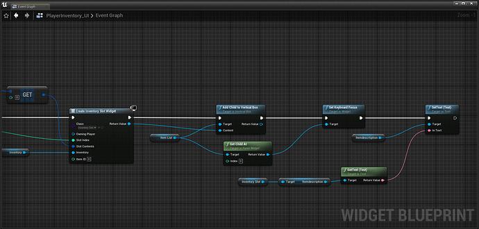 Playerinventory UI setup 3