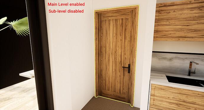 Door Main Level Only