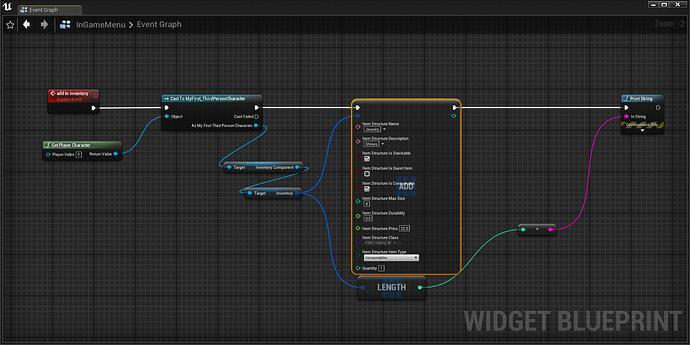 custom setup prt Ingame menu inventry function