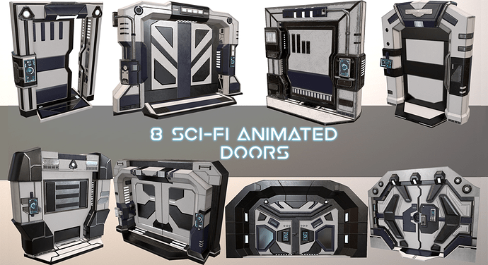 SciFi Animated Doors Pack_FeaturedNew.png