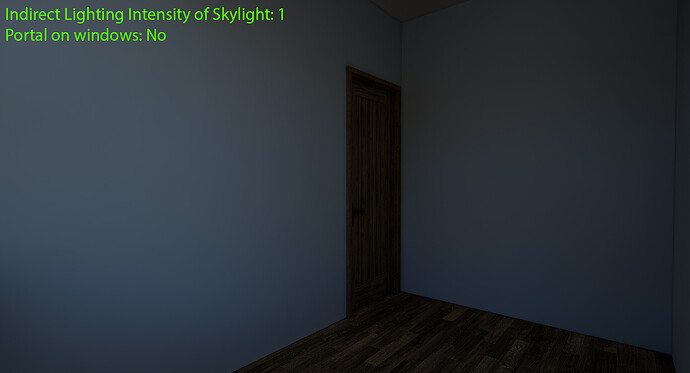 Indirect Lighting Intensity 1