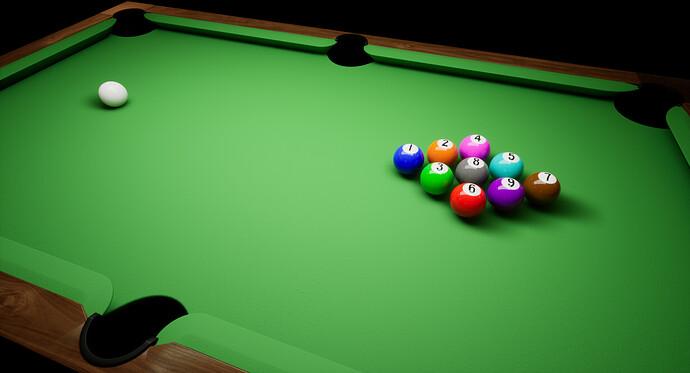 Barroom Billiards - Stage 1 - Table Progress (1)