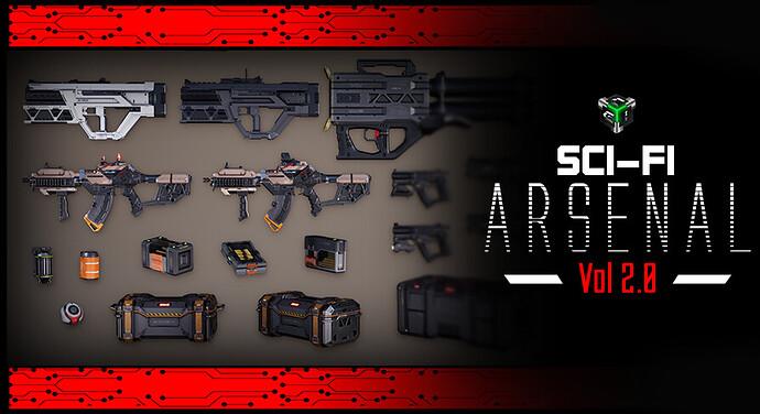 Sci-fi Arsenal Vol 2_Featured