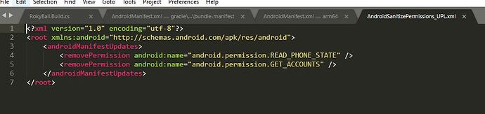 AndroidSanitizePermission