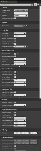 Unreal - Projectile Details 01
