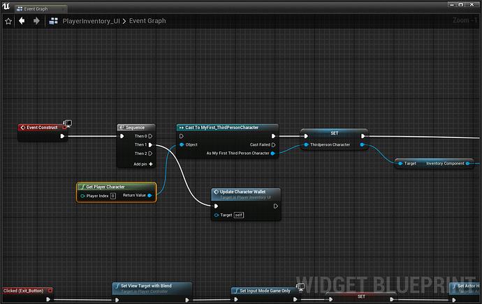 Playerinventory UI setup