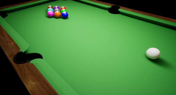 Barroom Billiards - Stage 1 - Table Progress (4)