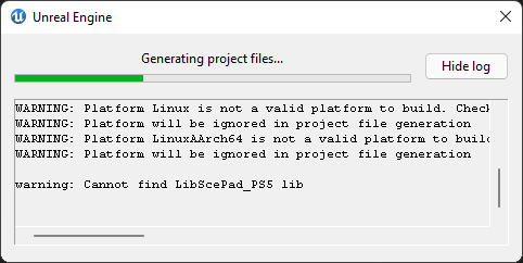 Cannot find LibScePad_PS5 lib